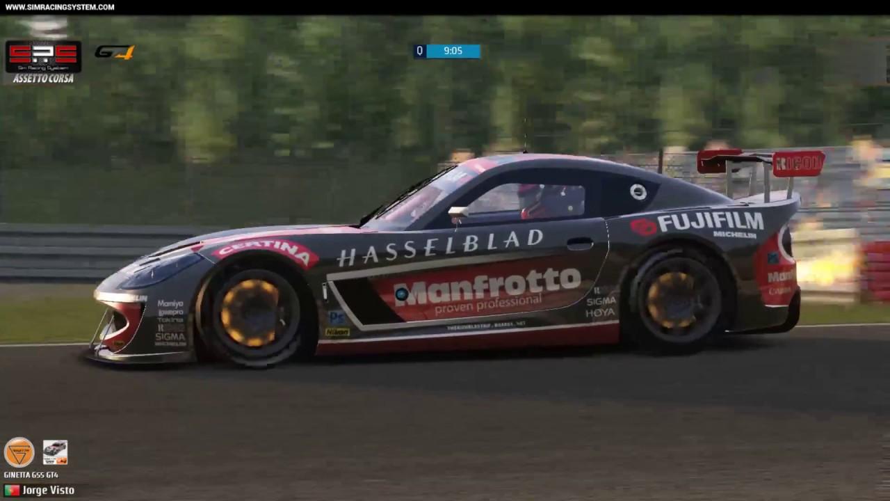 sim racing system live broadcast gt4 nurburgring youtube. Black Bedroom Furniture Sets. Home Design Ideas