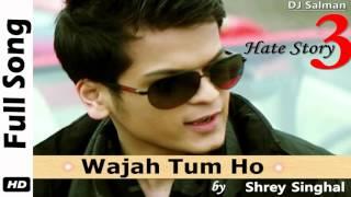 Wajah Tum Ho - Shrey Singhal Full Song (2015) - DJ Salman