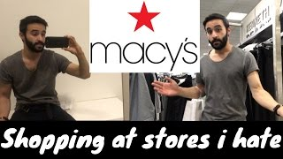 Video SHOPPING AT STORES I HATE: MACYS Men's fashion store review 2017 download MP3, 3GP, MP4, WEBM, AVI, FLV Juli 2018