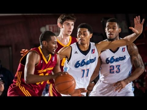 NBA D-League Playoff Highlights: Game 1: Canton Charge 99, Tulsa 66ers 118, 2013-4-10