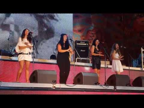 """Las Ketchup- Asereje фестиваль """"Дни Латинской Америки"""" во Владивостоке"""