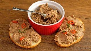 Самый простой ПАШТЕТ из куриной печени ☆ Быстрый и вкусный рецепт паштета из печени