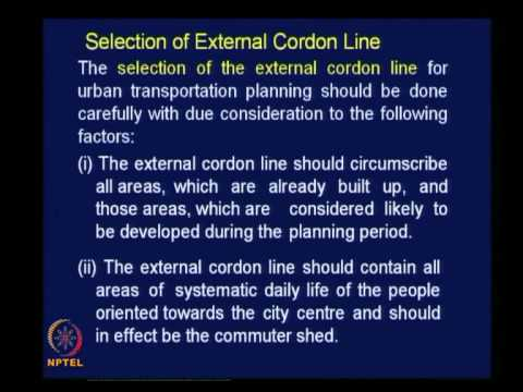 Mod-07 Lec-31 Transportation Surveys