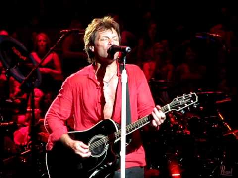 Bon jovi someday i ll be saturday night madison square garden 2 lost highway tour 2008 for Bon jovi madison square garden