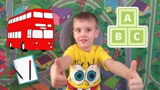 Изучаем английский язык для детей 1 урок  фрукты /  Learn English (Russian) for kids 1 lesson fruit