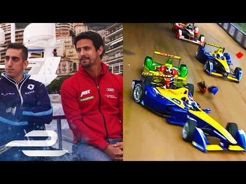 Buemi And Di Grassi Grilled By Alejandro Agag - Formula E