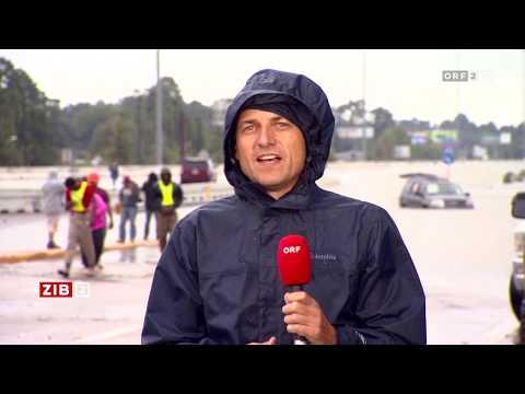 Sturm Harvey | Zeit im Bild vom 29.08.2017 | ORF2