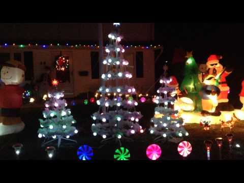 Gemmy Incredible Holiday Lightshow Trees