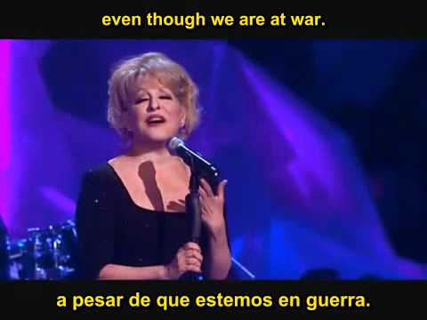 Bette Midler - From A Distance - Subtitles English-Spanish