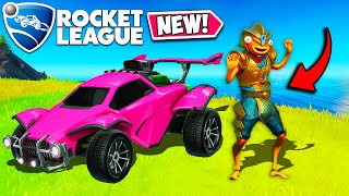 *NEW* PLAY ROCKET LEAGUE IN FORTNITE!! - Fortnite Funny Fails and WTF Moments! #998
