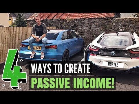 4 of The Easiest & Most Effective Ways to Make Passive Income Online