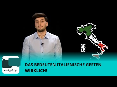 Italiener Erklärt's: Das Bedeuten Italienische Gesten WIRKLICH!