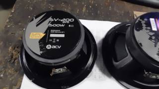 Обзор ACV SV-200 pro , часть  первая ( гараж)