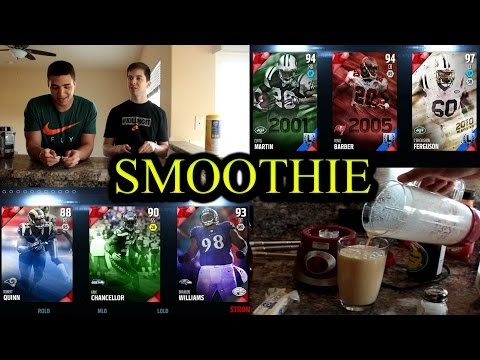 DISGUSTING SMOOTHIE CHALLENGE MADDEN 16 DRAFT CHAMPIONS