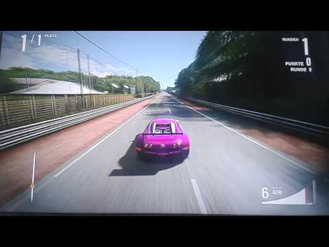 Bugatti veyron vs Audi R10 TDI Forza