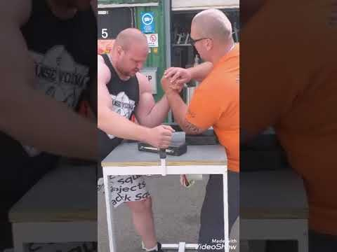 Arm wrestling training Turku.