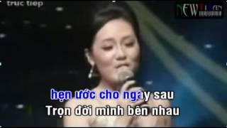 Cơn Mưa Tình Yêu-Karaoke ft Hàn Thái Tố (Thiếu Giọng Nữ)