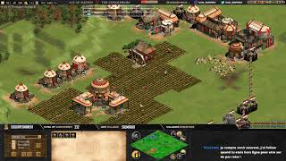 #3 AGE OF EMPIRES 2 ! EXPERT PLAYERS ! TWIGG VS F1RE - MAP ARABIA