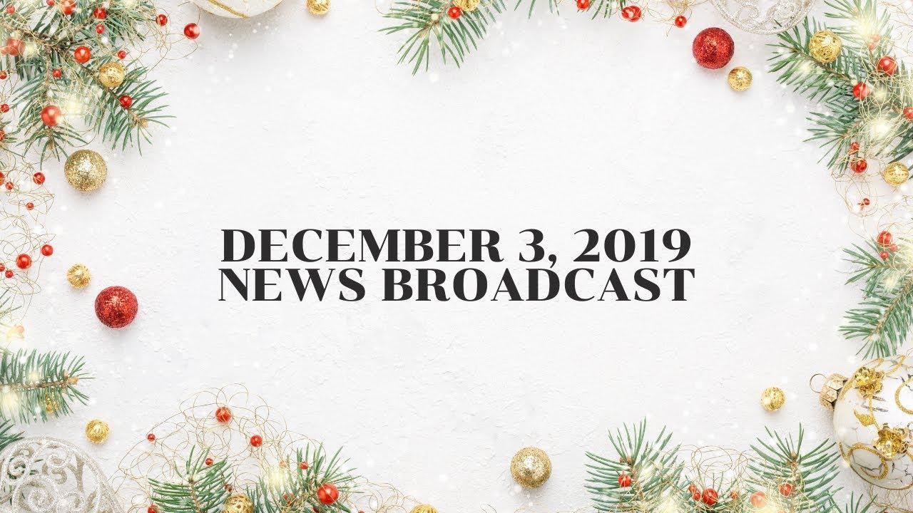 December 3 News Announcement