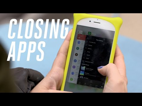 Is force closing apps bad for your phone?