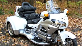 2012 Honda Gold Wing with CSC Trike 8099 Miles!