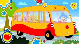 Las Ruedas del Bus 🚍 ♫ Plim Plim ♫ Canciones Infantiles