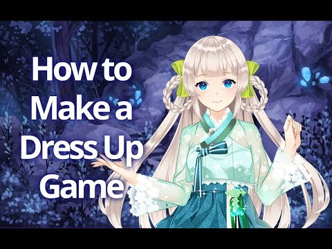 How To Make A Dress Up Game