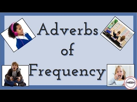 Daily Routines : Adverbs of frequency - English Language
