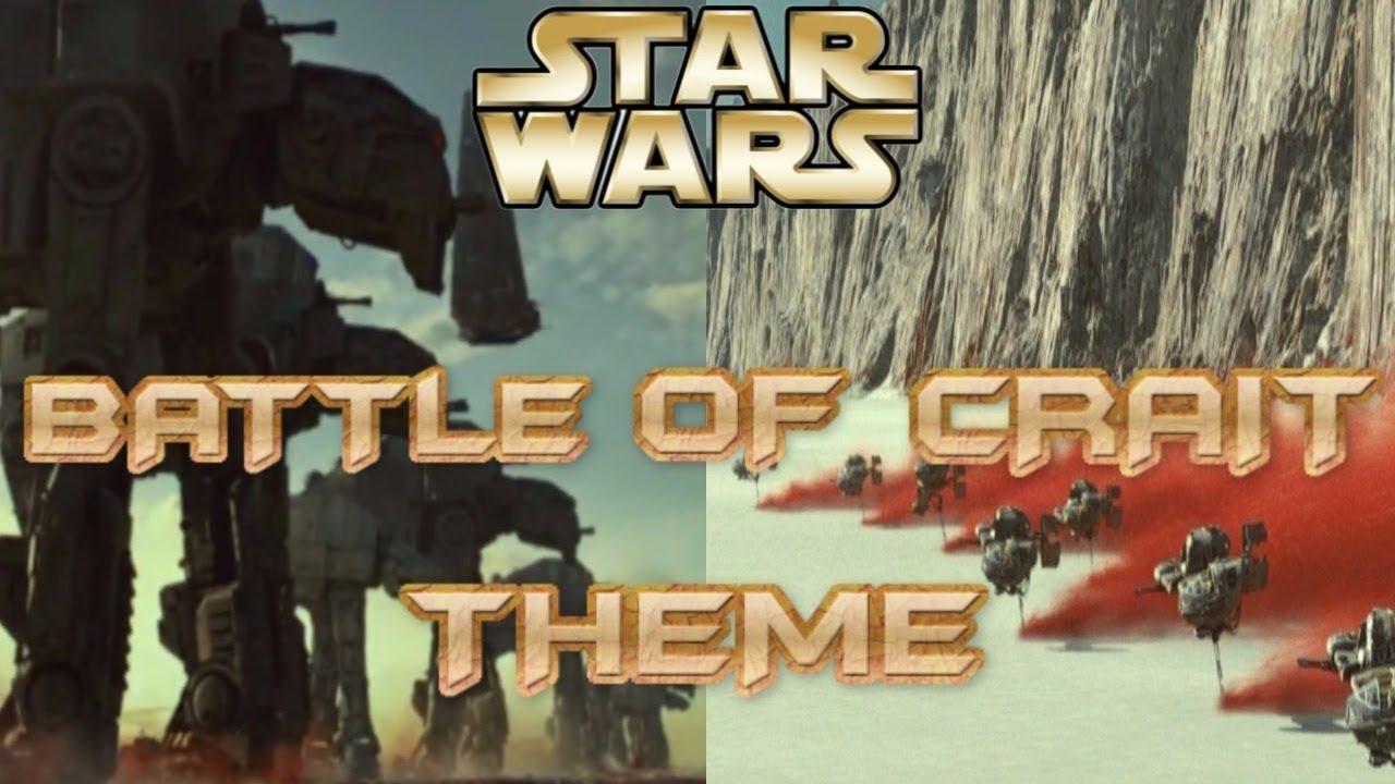 Connu Star Wars Battlefront 2 (2017) - Battle of Crait Theme - YouTube TS65