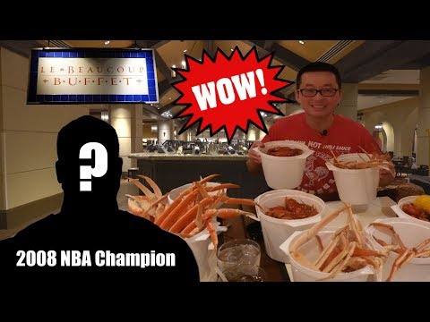 All You Can Eat Crawfish @ Le Beaucope Buffet | L'auberge Casino Resort | Lake Charles, Louisiana