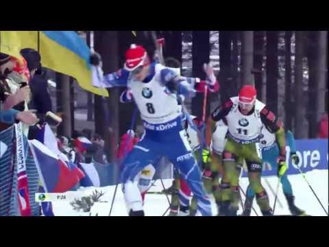 BIATHLON MEN PURSUIT 17.12.2016 World Cup 3 NOVE MESTO(Czech Republic)