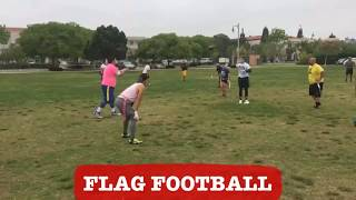 "Flag Football Highlights: Introducing Tony - ""The Human Hit Stick"""