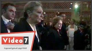 إمبراطورة إيران السابقة تحيى ذكرى زوجها الـ37 فى مسجد الرفاعى بالقاهرة