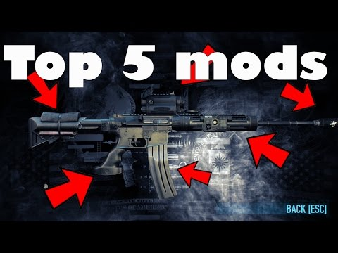 Best Payday 2 Mods 2019 The top 5 best weapon mods in payday 2 (2017)   YouTube