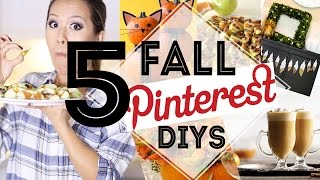 5 Pinterest DIYS You MUST Try for FALL | ANNEORSHINE