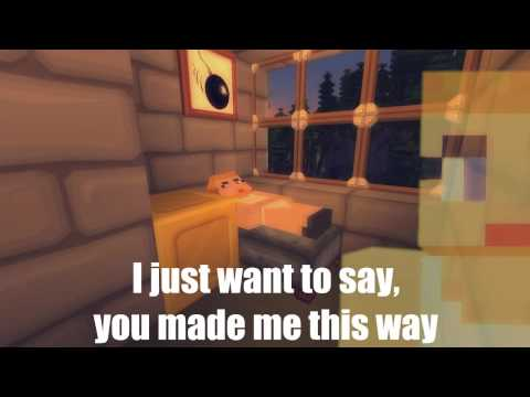 Minecraft - Enderman (Wrecking ball Parody) [Lyrics Video] [HD]