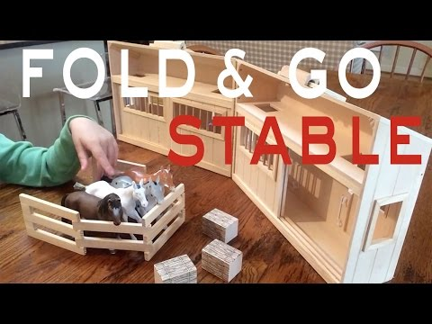 Horse Toys | Melissa And Doug | Fold And Go Stable