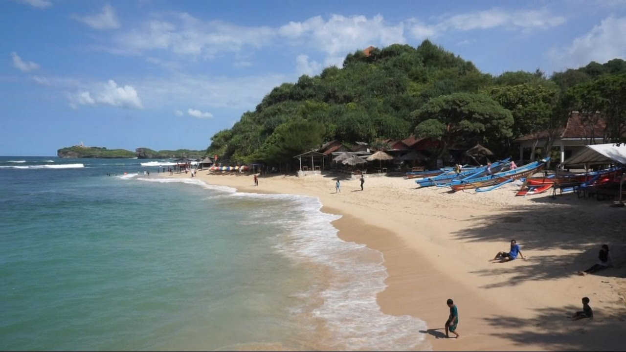 Video Pantai Ngandong, Gunung Kidul - Yogyakarta