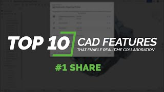 #1 Sharing in Onshape | Top 10 CAD Features That Enable Real-Time Collaboration