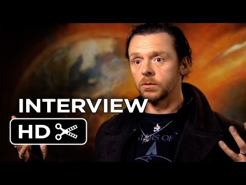 The World's End Interview - Simon Pegg (2013) - Edgar Wright Comedy HD