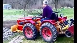 ciągnik ogrodniczy Valpadana 330 4RM