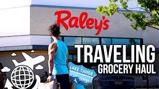 Flexible Dieting Grocery Haul While Traveling!