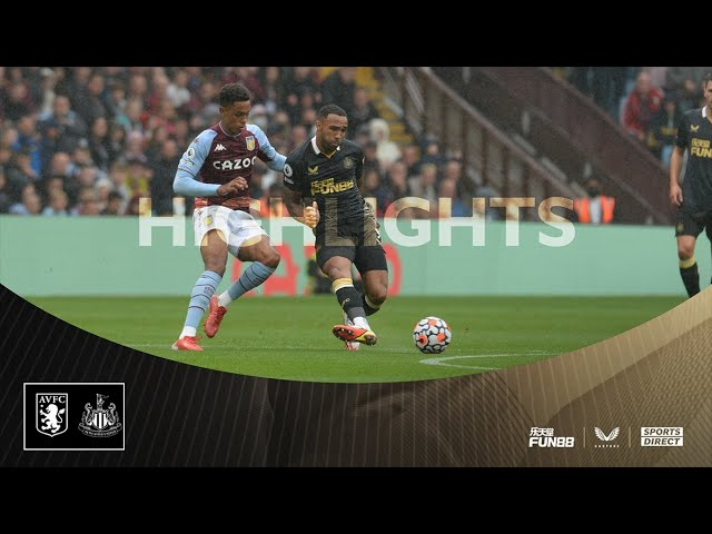 Aston Villa 2 Newcastle United 0 | Premier League Highlights