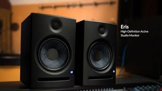 スタジオ・モニターであるErisスピーカーは、タイトなベース、非常にク...