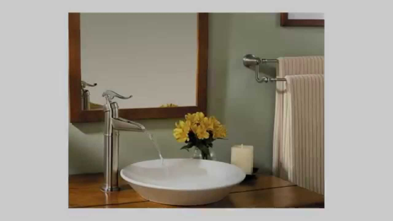 pfister ashfield single control vessel bathroom faucet in brushed
