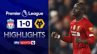 Liverpool win after VAR controversy! | Liverpool 1-0 Wolves | Premier League Highlights