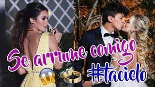 CASAMENTO TATÁ e COCIELO - SE ARRUME COMIGO! | Get Ready With Me