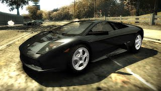Lamborghini Murcielago Circuit Race - NFS Most Wanted 2005