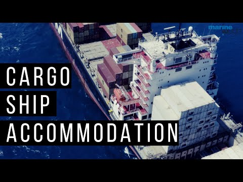 Cargo Ship Accommodation