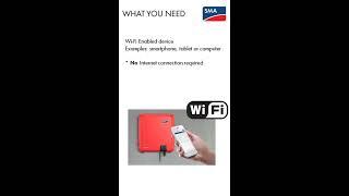 Hoe maakt u verbinding via wifi met het Smart Screen van uw SMA omvormer?